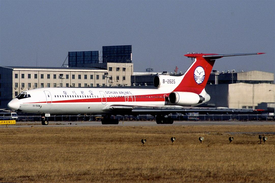 1081px-Sichuan_Airlines_Tupolev_154M;_B-2625@PEK,_January_1998_BMY_(5455415479).jpg